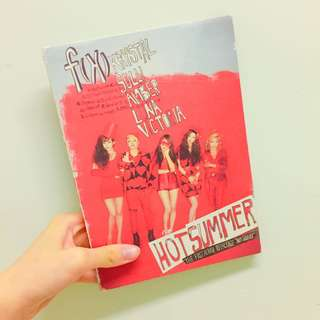 fx f(x) - the first album repackage Hot Summer