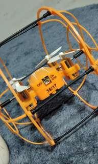 Mini drone with crash guard
