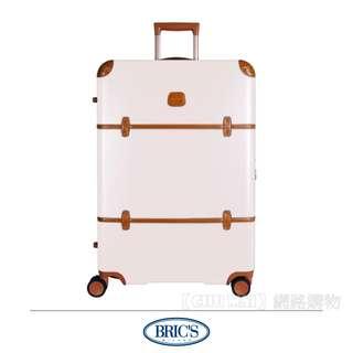 【Chu Mai】Bric's BBG2830 Bellagio登機箱 拉桿箱 商務箱 旅行箱-米白色(30吋行李箱)