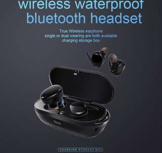 Bluetooth Earpiece Wireless Premium Water Proof
