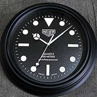 "TAG Heuer 10"" Electronic Quartz Clock"
