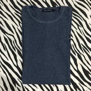 Societe id blue two tone longsleeve size l