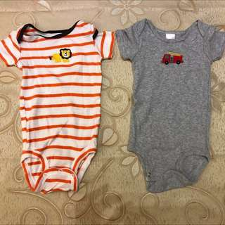 🚚 (買4送1共5件~割愛價250元)9成新出生兒衣服
