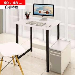 $128 (包運費) 60 X48 cm 簡易電腦桌 電腦枱 Computer Desk *包自取運費,付款後7天交貨