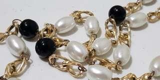 SALE!!!  Fashion Necklace (Black & White) 💖