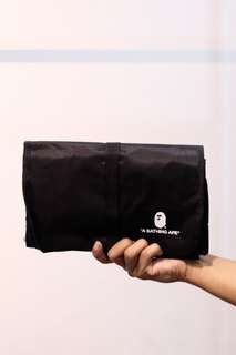 (NEW) BAPE UNIVERSAL TRAVEL POUCH