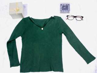 Top knitted-tosca