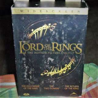 Lord Of The Rings Trilogy DVD Theatrical Version Region 1