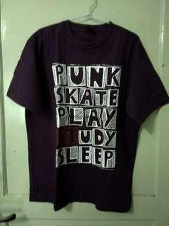 Kaos Rock Punk Skate