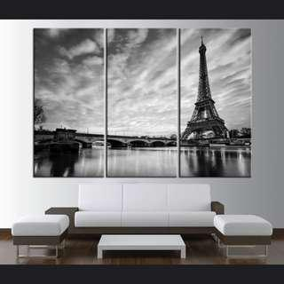 Eiffel Tower Citycape Landscape Photos Paintings No Frame