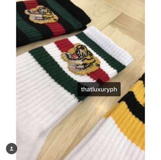 Gucci Stretch Cotton Tiger Socks