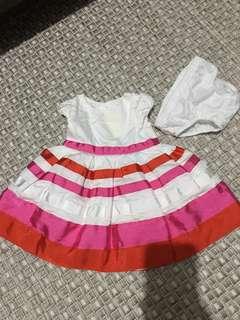 Carter New born baby dress
