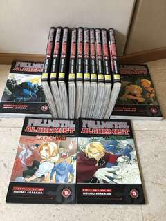FullMetal Alchemist (English edition) Japanese Manga Collection by Hiromu Arakawa