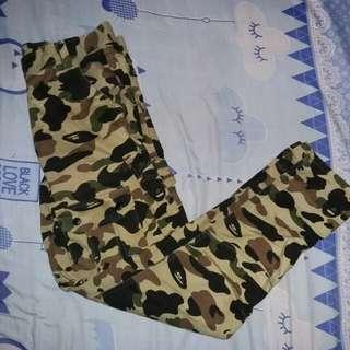 BAPE camo cargo pants ( FAPE/OFF )