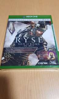 RYSE Son of Rome LEGENDARY EDITION X-box one - Brand new sealed game