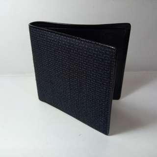 Japanese Yuki-tsumugi Fabric (結城紬) Wallet - a collector's item