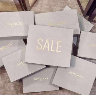 Jimmy Choo On Sales London 代䐟 June July 2018