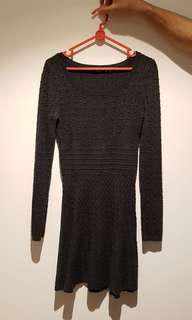 Grey Sportsgirl Knitted Dress