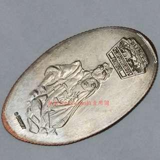 【風中奇緣 寶嘉康蒂 紀念幣 1枚 華特 迪士尼 樂園】Disney 銅幣 壓印幣 金幣 壓鑄幣 美洲 原住民 印地安人