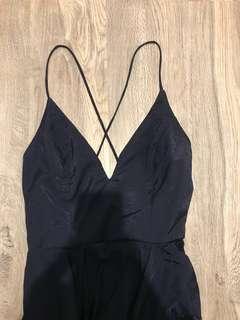 BNWT Navy blue formal dress