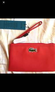 REPRICED: Original Lacoste Clutch Bag