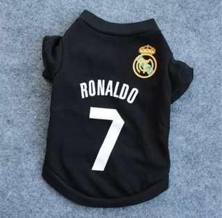 Dog/Cat Ronaldo 7 T-shirt