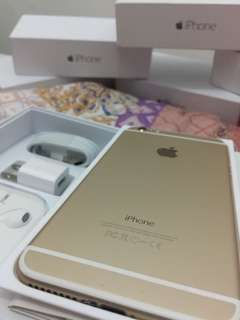 iPhone 6 16gb 64gb 128gb openline complete with 1 year warranty