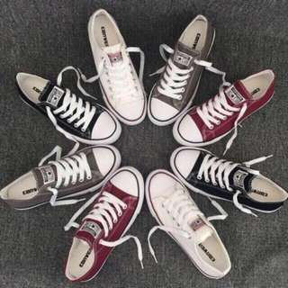 Converse sneakers / white converse sneakers / black converse sneakers / maroon converse sneakers / sneakers