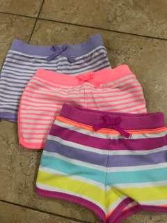Overun Gap Shorts 3T