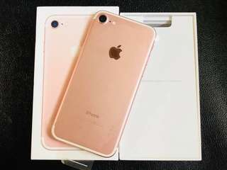 iPhone 7 32gb 128gb 256gb complete openline with 1 year warranry