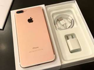 iPhone 7 plus 32gb 128gb 256gb complete openline with 1 year warranty