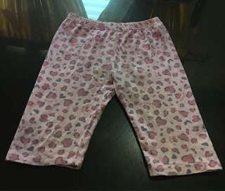 Pre-loved Heart-printed Half Pants
