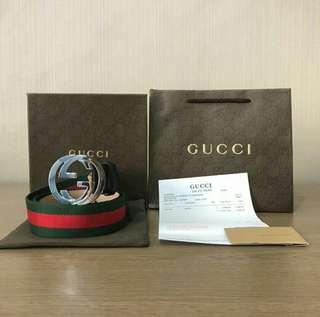 Sabuk Gucci Pria