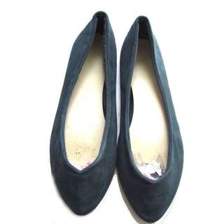 H&M Teal Pointy Flats