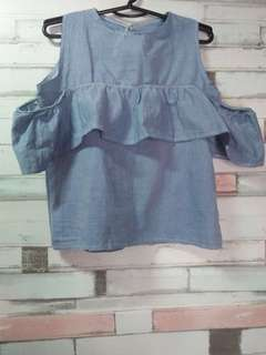 Denim Top Brand New