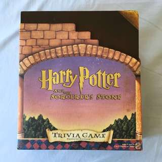 Harry Potter and the Sorcerer's Stone Trivia Board Game