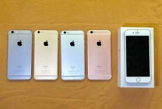 Iphone 5s/6/6s with pricelist