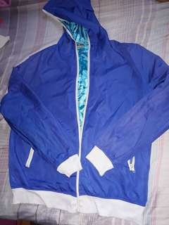 Reversible jacket Blue