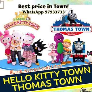 HELLO KITTY TOWN & THOMAS TOWN & THE LITTLE BIG CLUB