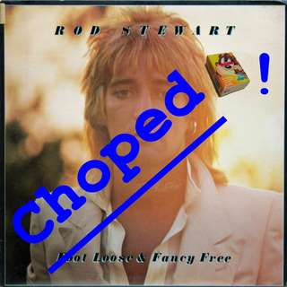 rod stewart Vinyl LP used, 12-inch, may or may not have fine scratches, but playable. NO REFUND. Collect Bedok or The ADELPHI.