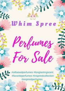 Very Affordable Oil-based Perfumes