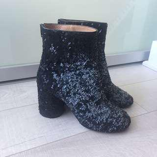 Margiela Sequin Sock Boot