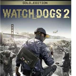 Watch Dog 2 Gold Edition