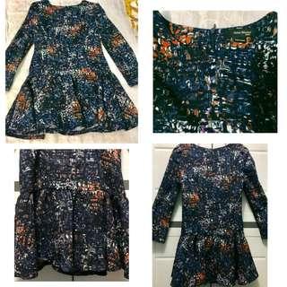 Long sleeves Korean Dress 👗