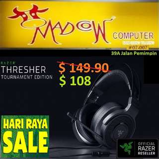 "Razer Thresher TE Wired Gaming Headset.., "" Offer Sales..,Hurry Grab it by Tonite....while Stock Last..""."