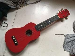 Diamond Head Red Ukulele