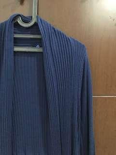 Cardigan blue color
