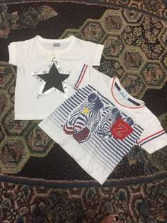 tshirt bundle for babies 3-6 months