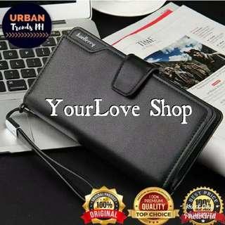 Baellerry Business Men Wallet Baelerry Handy Purse Trifold Wallet Smart Phone Clutch Coin Pocket Credit Card Holder Carteira HOT