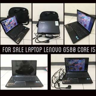 MURAH !!! LAPTOP CORE I5 LENOVO G580